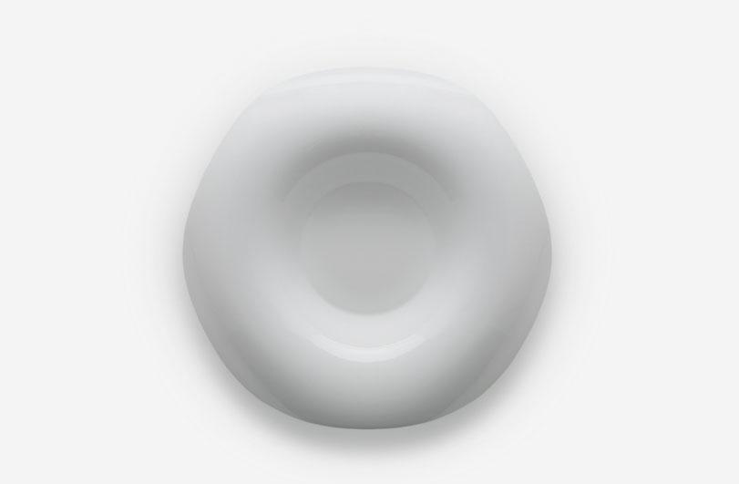 Colección Orbe, vajilla de diseño en porcelana para Porvasal by Ximo Roca