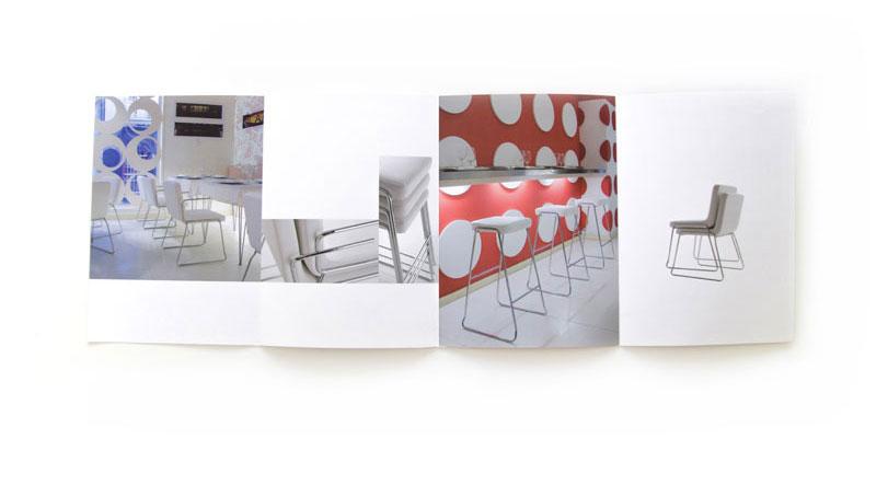 Upoh - Ximo Roca Diseño. Maquetación y diseño de catálogo de productos para empresa fabricante de sillas y sillones aptas para viviendas y espacios de trabajo.