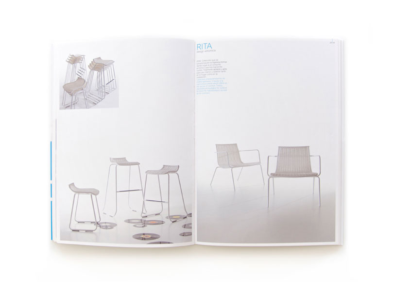 Bonestil - Ximo Roca Diseño. Maquetación y diseño de catálogo para fabricante valenciano especializado en mobiliario de exterior.