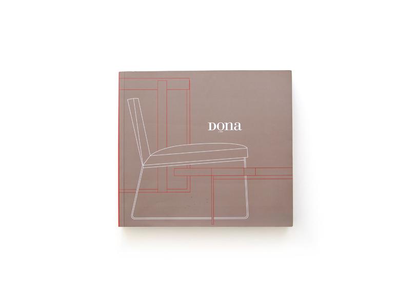 Dona Living - Ximo Roca Diseño. Diseño de catálogo de productos para empresa dedicada a la fabricación y venta de muebles de complemento.