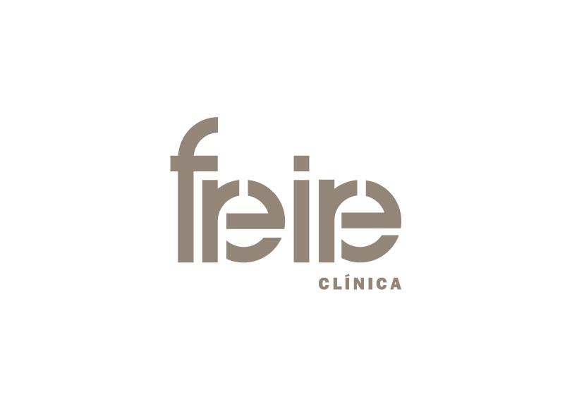Freire - Ximo Roca Diseño. Diseño de identidad corporativa, papelería corporativa, tarjeta de visita, diseño gráfico para empresa dedicada al ámbito de la salud.
