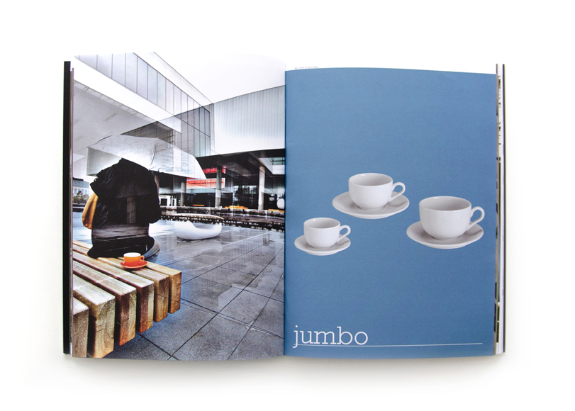 Inker - Ximo Roca Diseño. Diseño de catálogo de productos para empresa dedicada a la producción y comercialización de porcelana de mesa.