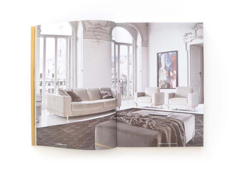 Latorre - Ximo Roca Diseño. Diseño de catálogo de productos para empresa de alta decoración, muebles e iluminación. Diseño de catálogo