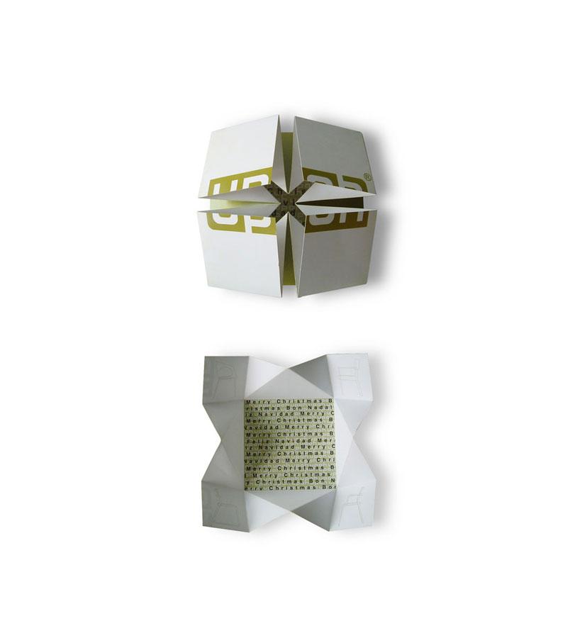 Upoh - Ximo Roca Diseño. Identidad corporativa y diseño de material publicitario para empresa fabricante de muebles de diseño.