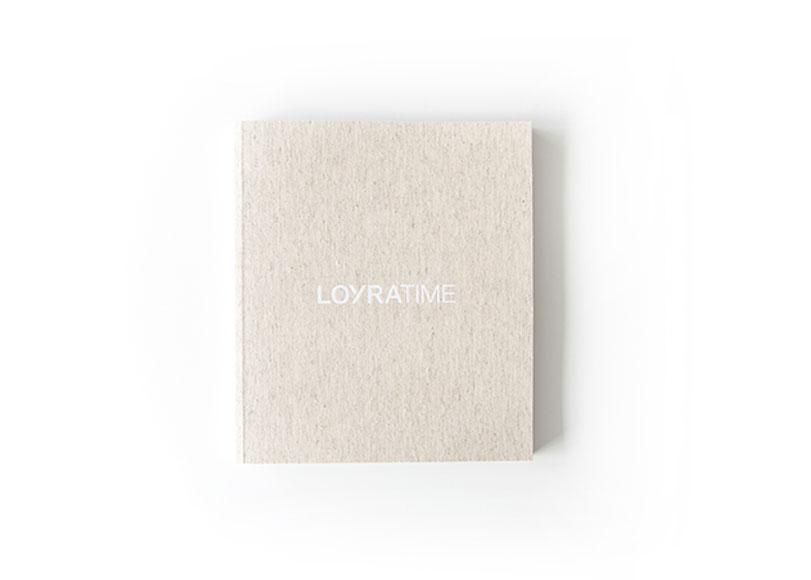 LoyraTime - Ximo Roca Diseño. Diseño y maquetación del catalogo de producto para empresa fabricante de mobiliario para el hogar.