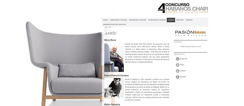 Concurso de diseño Habanos Chair - Ximo Roca Diseño