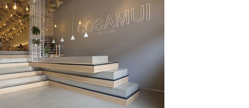 Restaurante Cosamui - Ximo Roca Diseño - Arquitectura e interiorismo