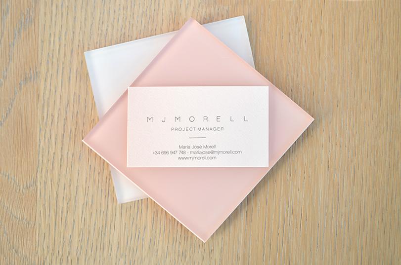 Branding y aplicaciones desarrolladas para Mjmorell