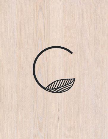 Identidad corporativa para salón de bioestilismo. El logo representa un profesional de la belleza que con su esfuerzo desea poner su grano de arena a un impulso de cambio global - Ximo Roca Diseño