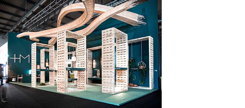 Diseño stand para Salone del Mobile Milano