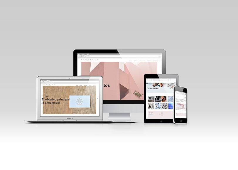 Diseño y desarrollo web para María José Morell Outsourcing.