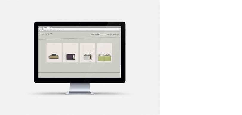 Diseño y desarrollo web para Luniglass. - Ximo Roca Diseño
