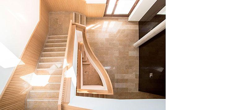 Edificio público Proyecto de interiorismo y nueva imagen corporativa.