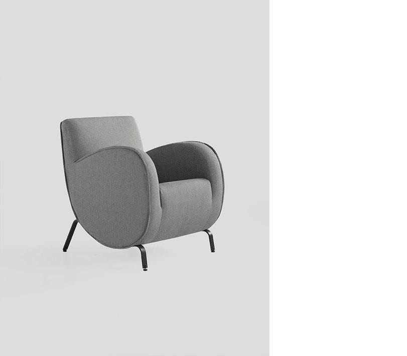 Colección de sillas y mecedoras que nos hace retroceder en el tiempo hasta los años de Verner Panton