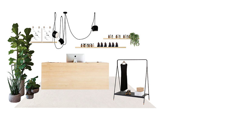 Proyecto de interiorismo e imagen corporativa.